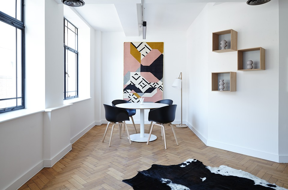 Restyling con le pareti divisorie