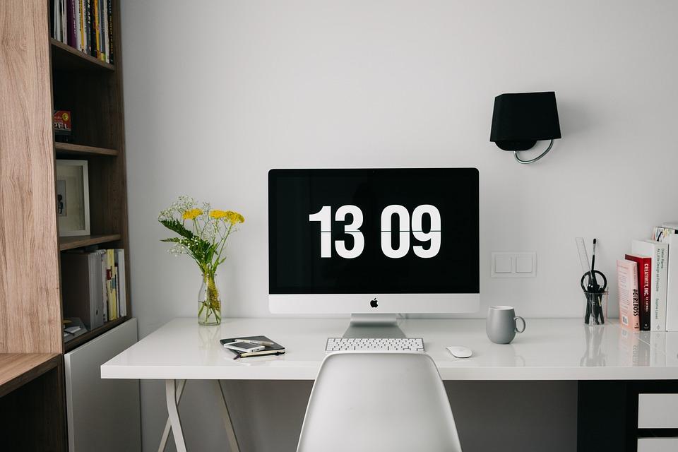 organizzare l'ufficio a casa