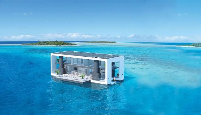 La casa del futuro? Autosufficiente, di lusso e... galleggiante.