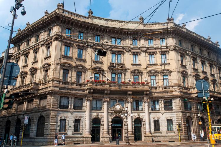 Progetto per riqualificare Palazzo Broggi a Milano.