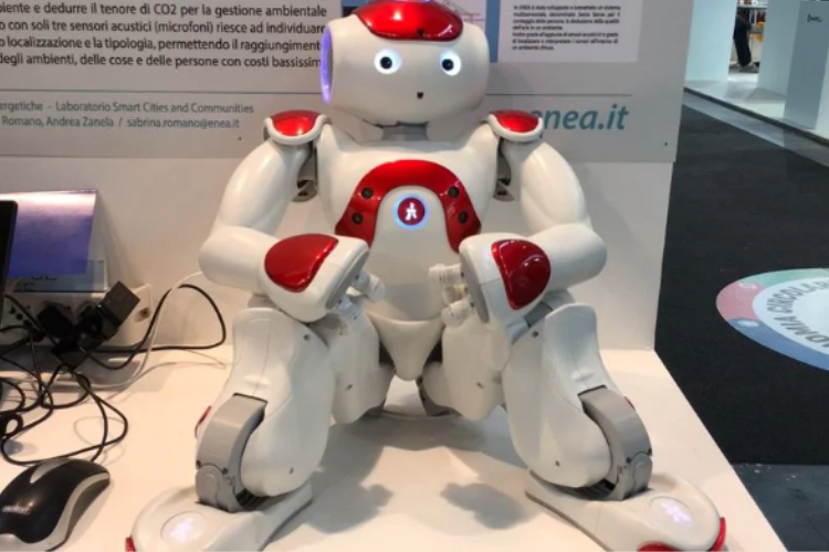 Il robot domestico Nao.