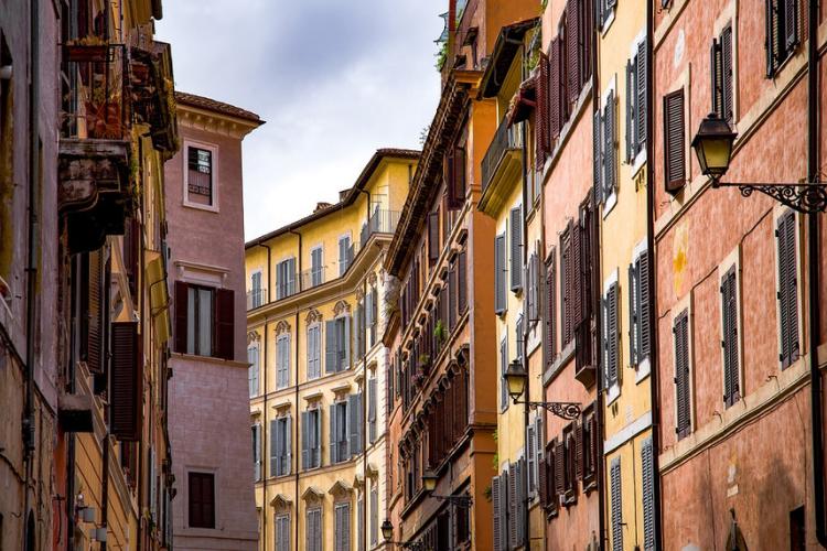 Cercare casa a Roma.
