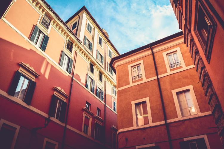 Le case di proprietà in Italia.