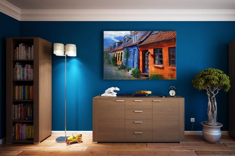 La scelta dei colori per le pareti di casa.