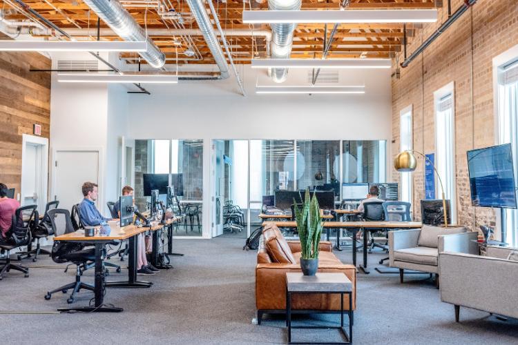 Il lavoro flessibile e il settore uffici.