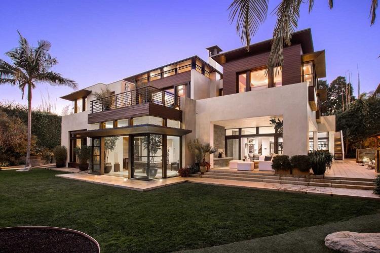 La villa di Matt Damon