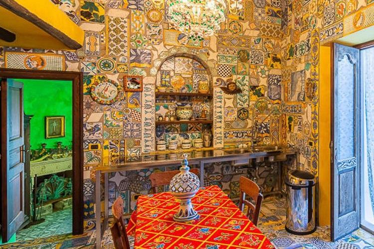 Gli interni della villa di Dolce e Gabbana