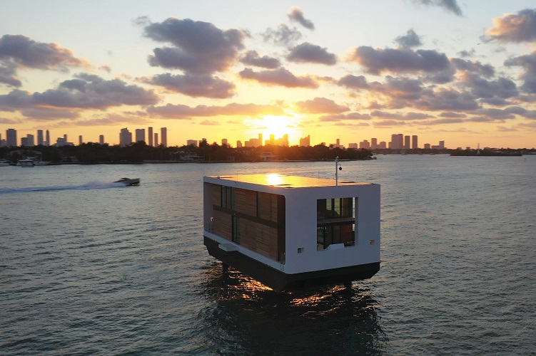 La villa galleggiante di Arkup