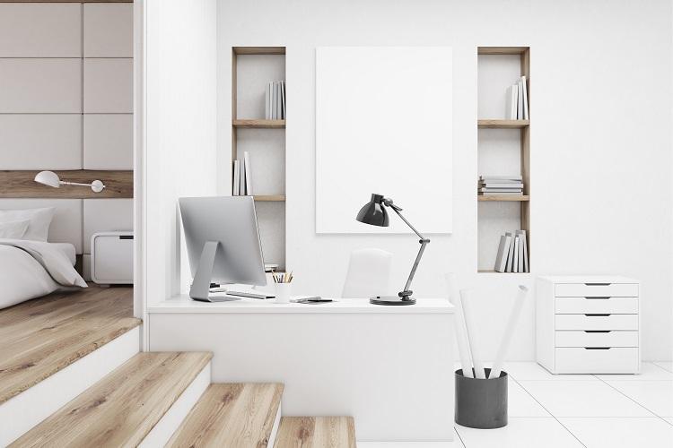 Scrivania e ufficio in camera da letto