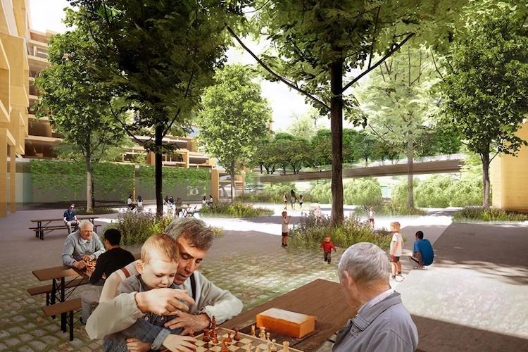 Parco Romana, il masterplan dell'ex scalo ferroviario