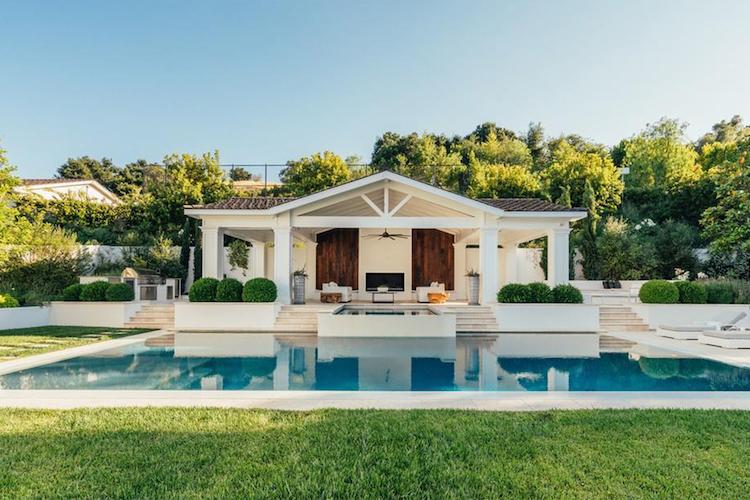 La nuova villa di Madonna - la guest house