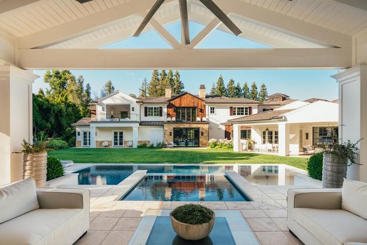 La nuova villa di Madonna - l'area relax