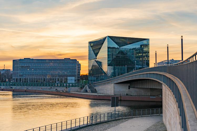 Cube Building di Berlino