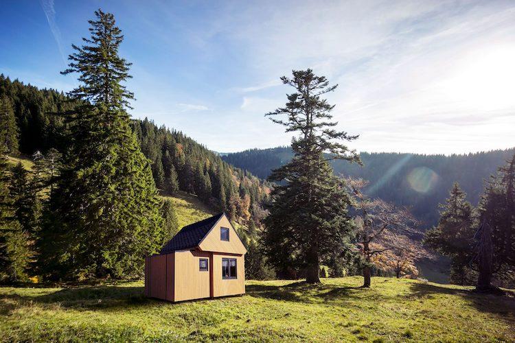 Casa prefabbricata in legno di Brette Haus