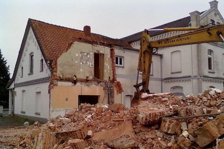 Demolizione per abuso edilizio