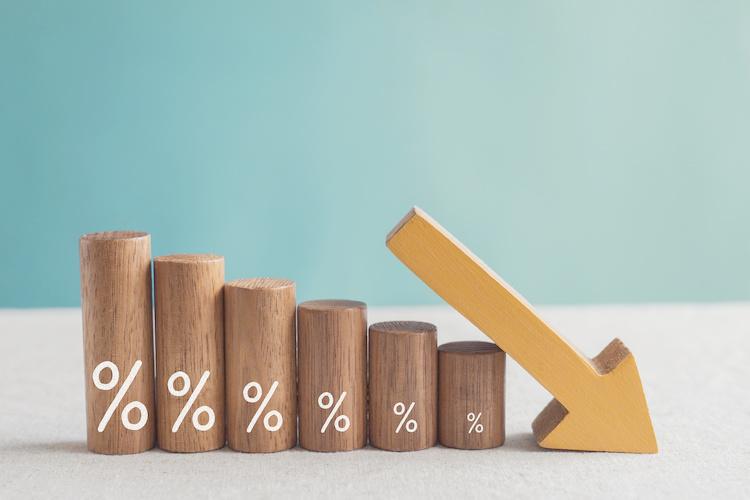 Diminuzione dei tassi di interesse dei mutui