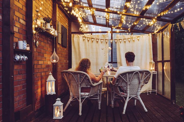 Luci da esterno per balconi e terrazzi