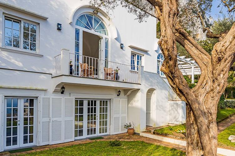 La villa di De Sica a Capri