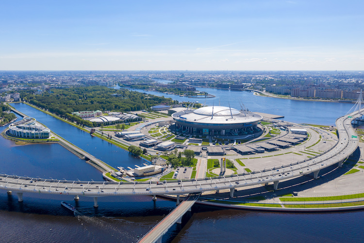 Krestovsky Stadium a San Pietroburgo