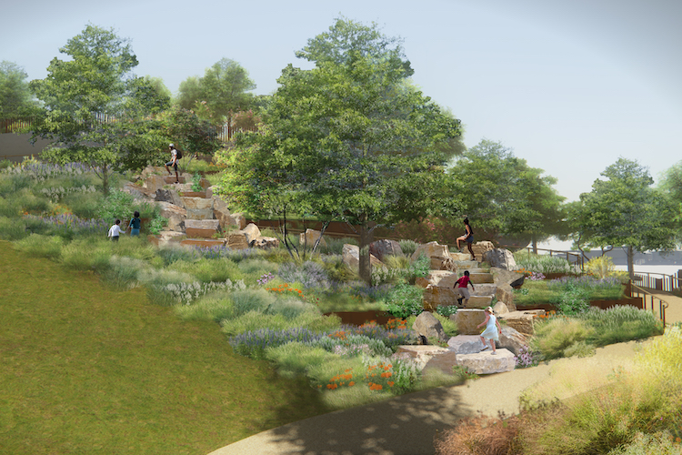 LittleIsland a New York, il parco