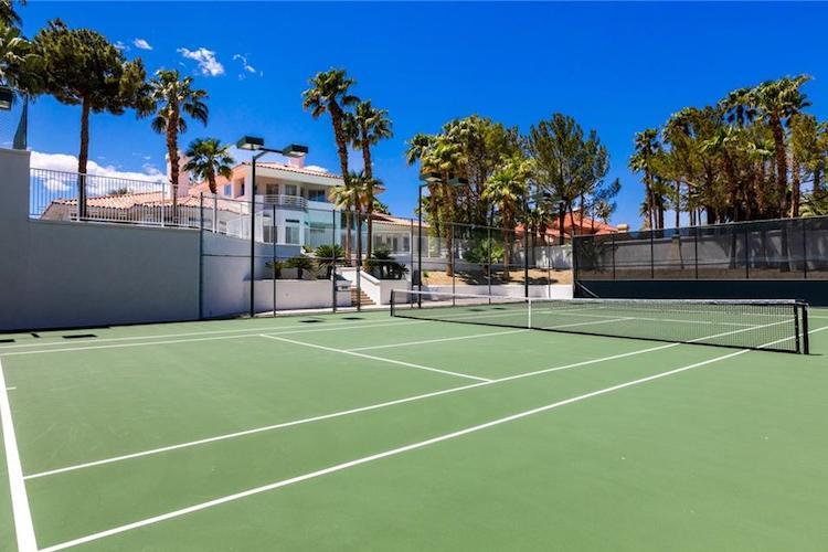 La villa di Andre Agassi