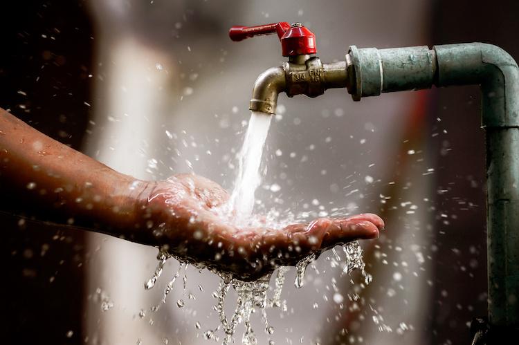 Consumo di acqua in casa