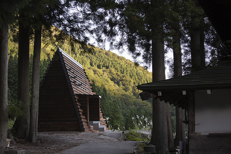 La House of Marebito dall'esterno