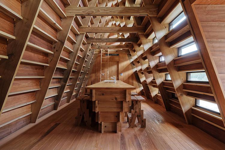 House for Marebito, interni
