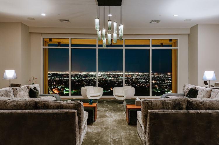 La casa di Matthew Perry a Los Angeles