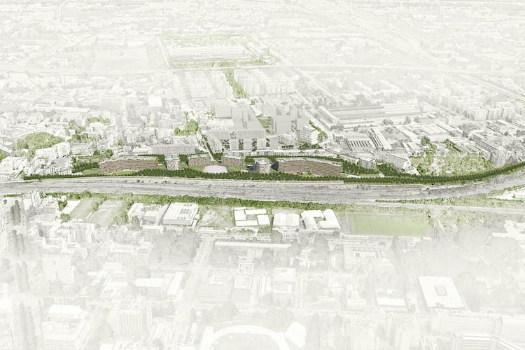 Il render del progetto di Scalo Lambrate: la zona interessata dai lavori.