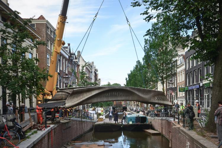 Il ponte stampato in 3d ad Amsterdam