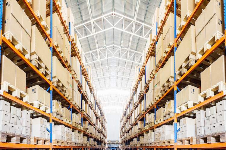 Un magazzino per il mercato immobiliare della logistica