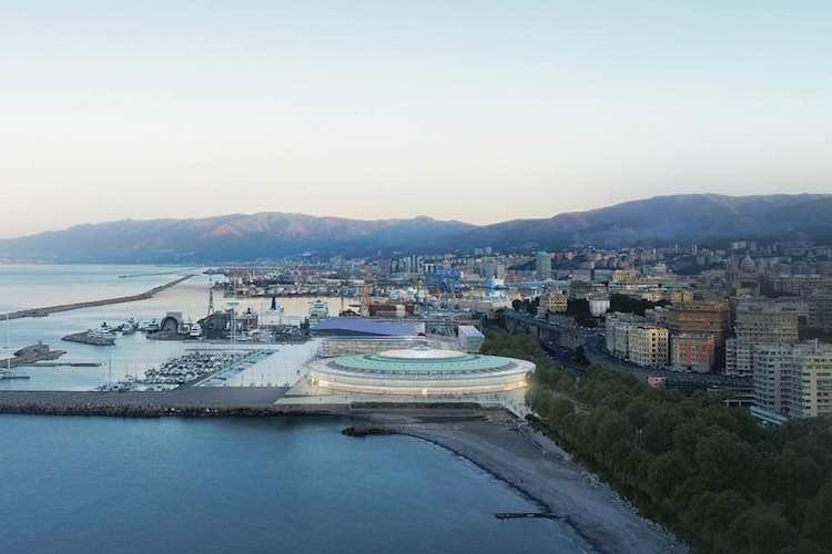 Il Waterfront di Levante a Genova - render