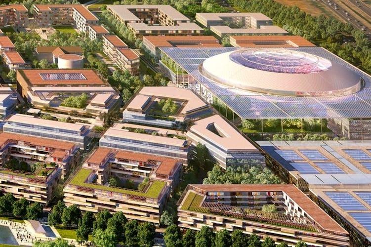La Arena olimpica di Milano Santa Giulia