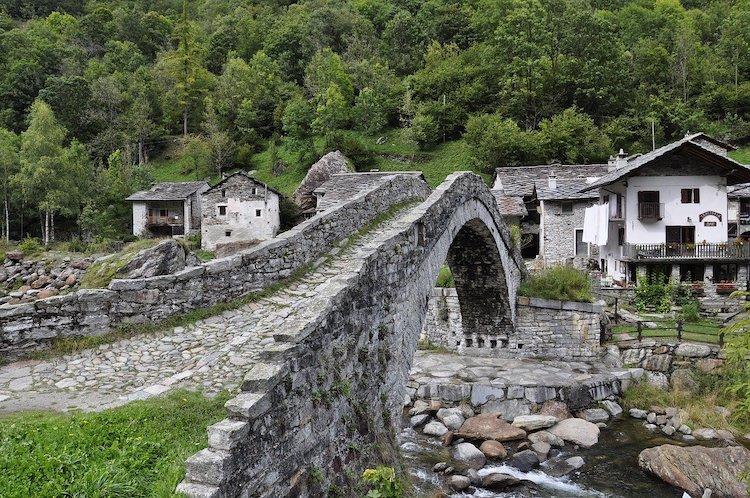 Un piccolo Comune montano in Piemonte