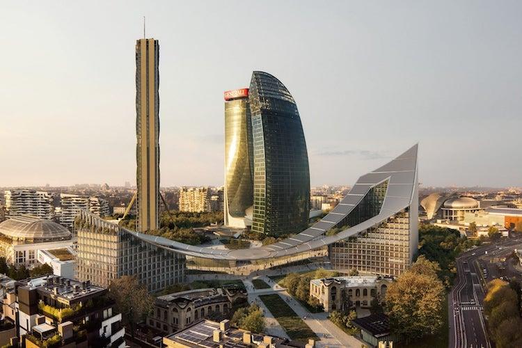 CityWave a Citylife, Milano