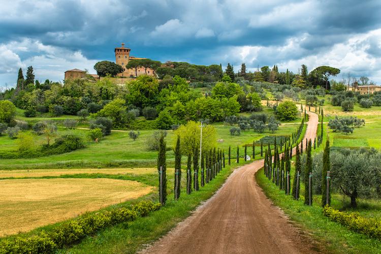 Villa nel Chianti. Toscana