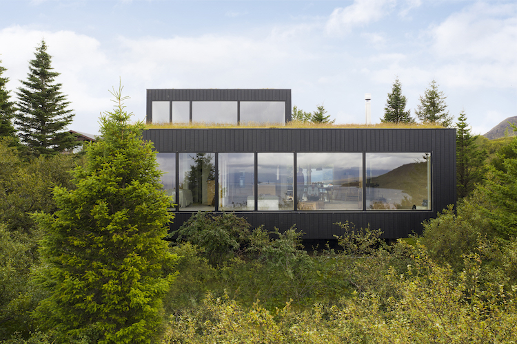 La villa in Islanda dello studio Krads