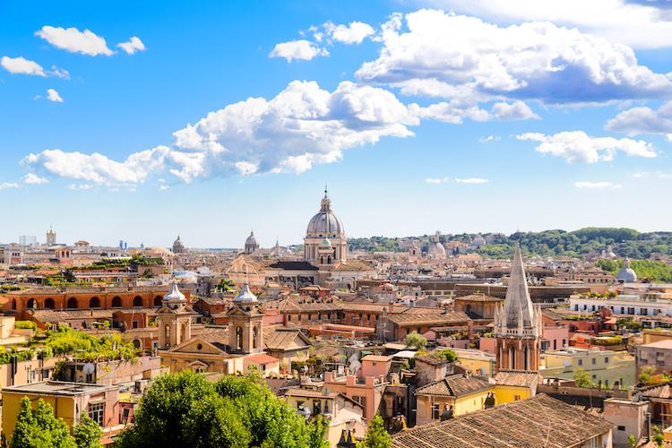 Un panorama di Roma