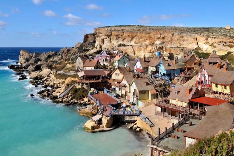Villaggio sul mare a Malta